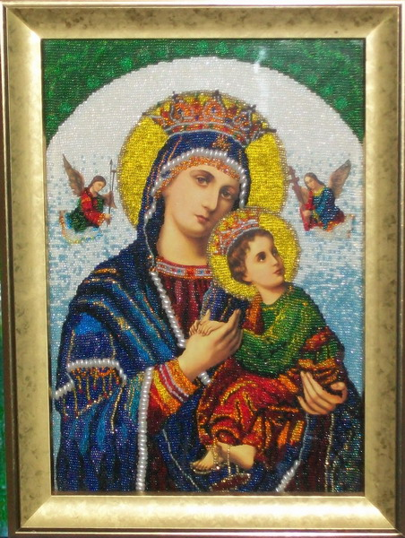 Икона Божией Матери Страстная (Одигитрия) .
